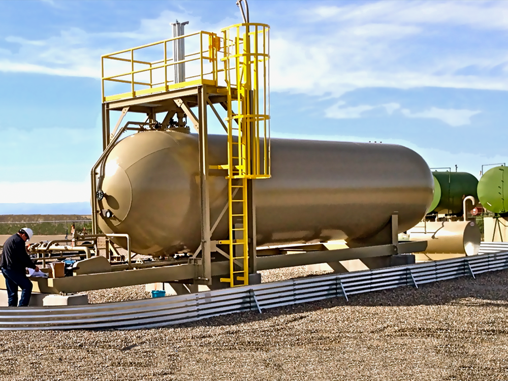 NGL LPG portable storage tank