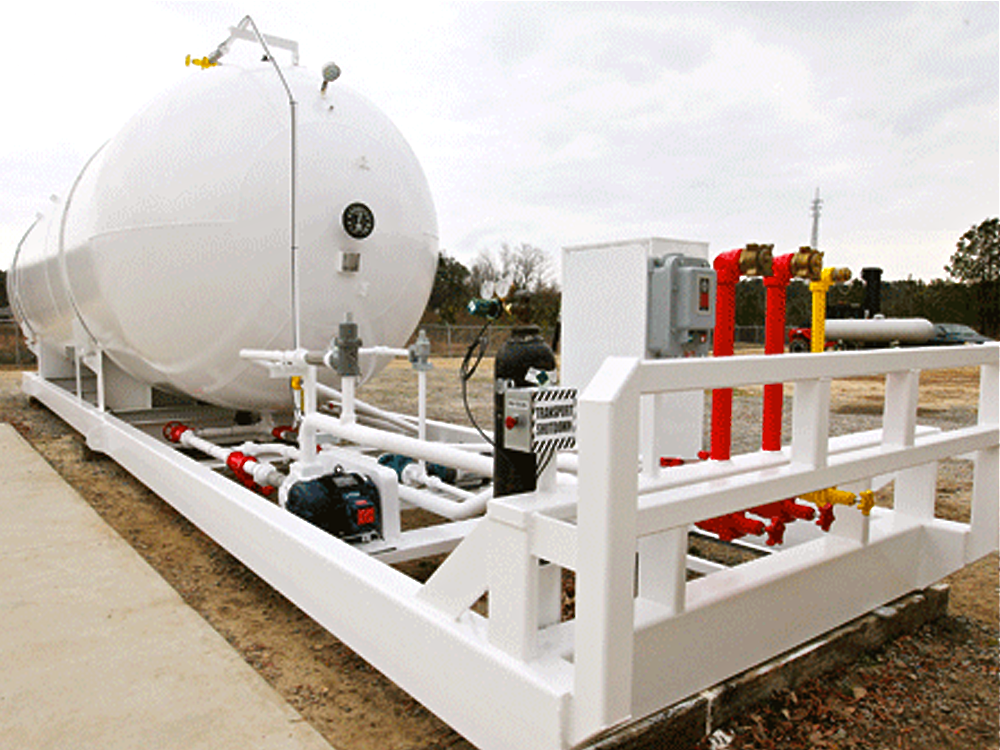 30,000 LPG portable storage tank