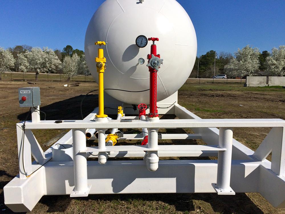 NGL LPG portable asme storage tank
