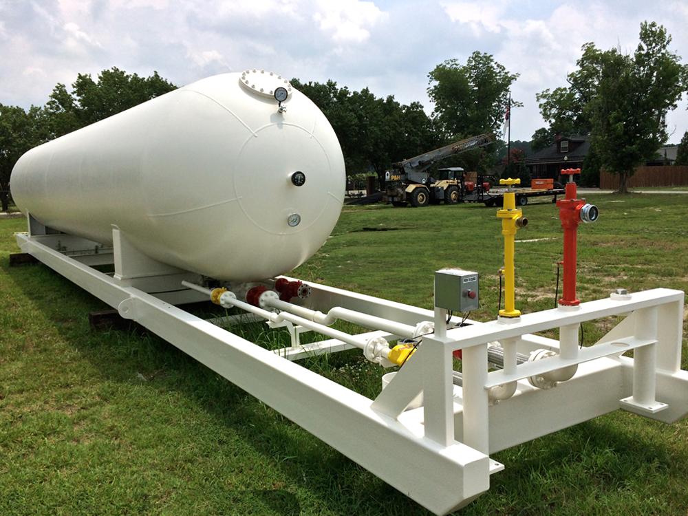 12,000 gallon NGL LPG portable storage tank