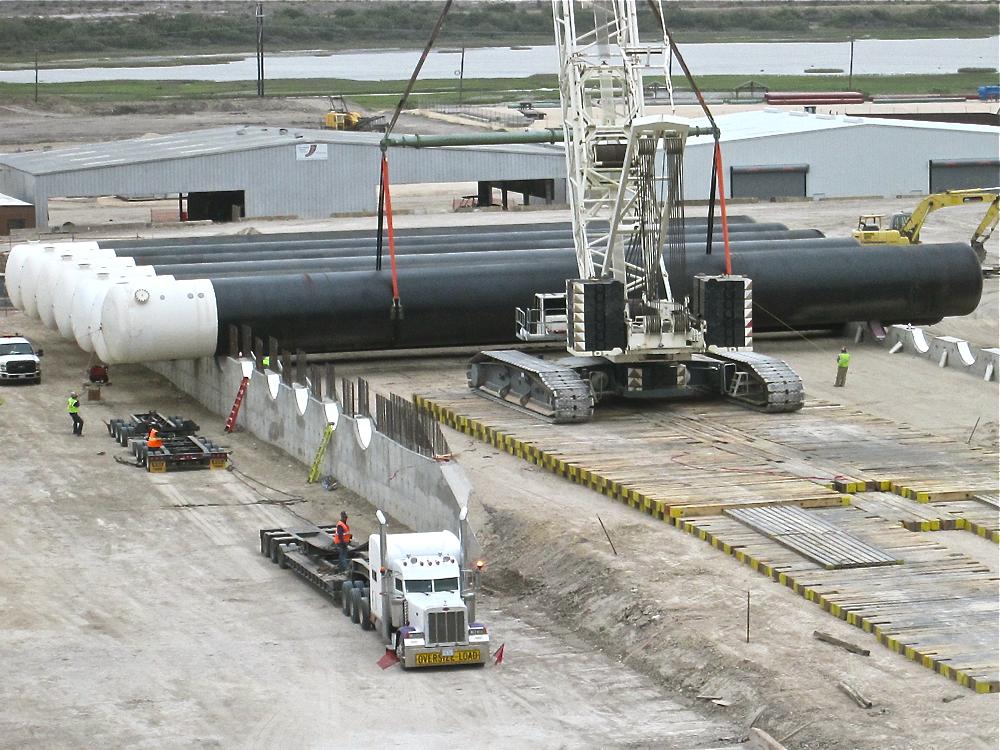 LPG underground storage tanks -  infrastructure