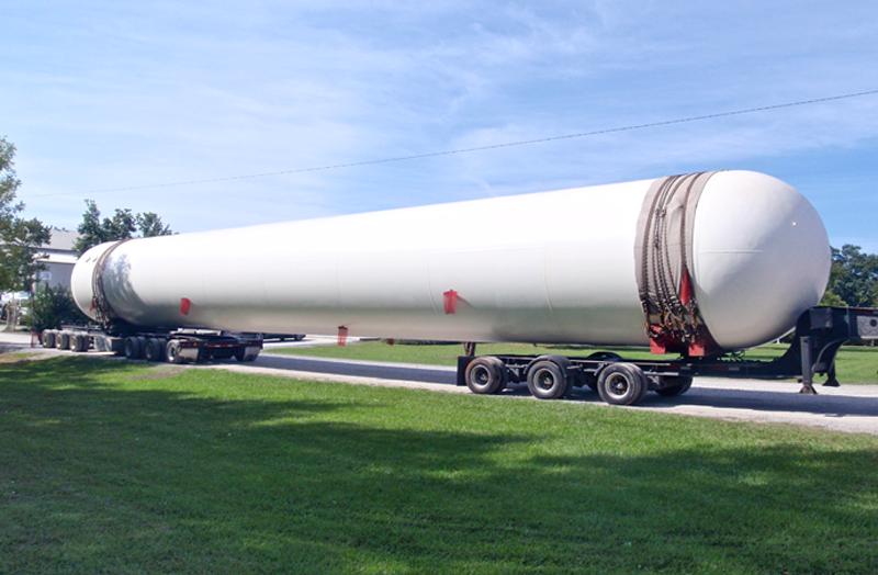 New 90,000 gallon NGL storage tank