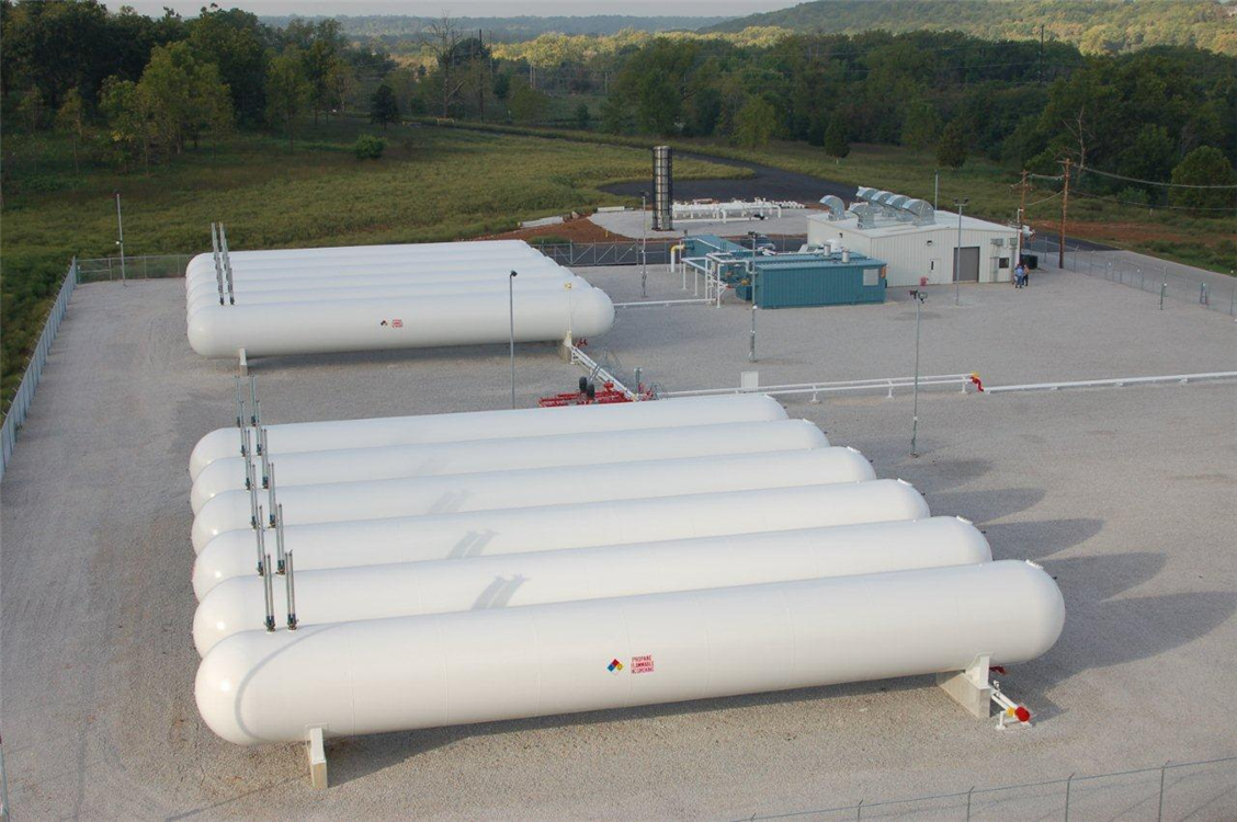 LPG Storage Tanks for Synthetic Natural Gas - SNG - power generation