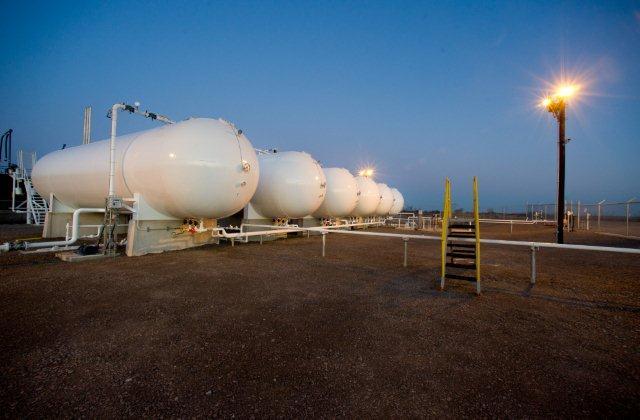 LPG Propane storage infrastructure