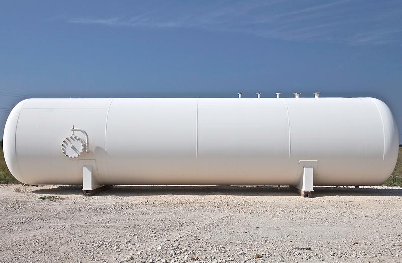 New LPG storage tank