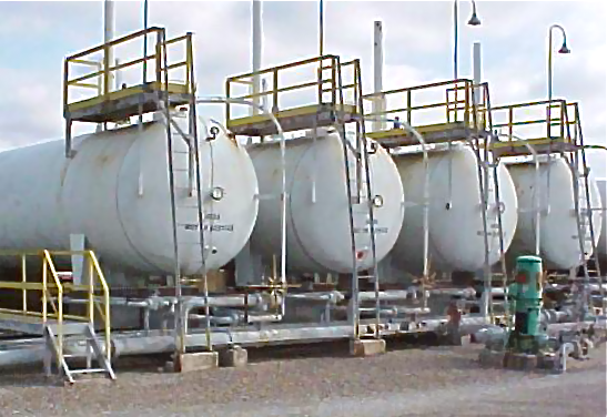 60,000 Gallon NGL Storage Tanks