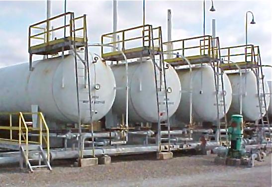 60,000 Gallon NGL Storage Tanks