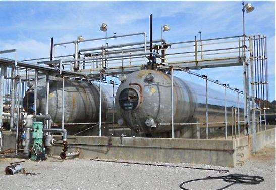 60,000 Gallon Used Propane Stroage Tanks