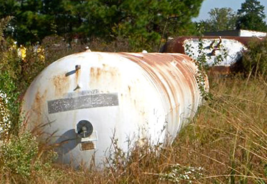 6,000 Gallon Propane Storage Tank thumb
