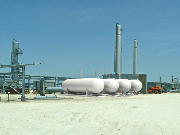 Scalable Modular NGL LPG Propane Storage Tank skids