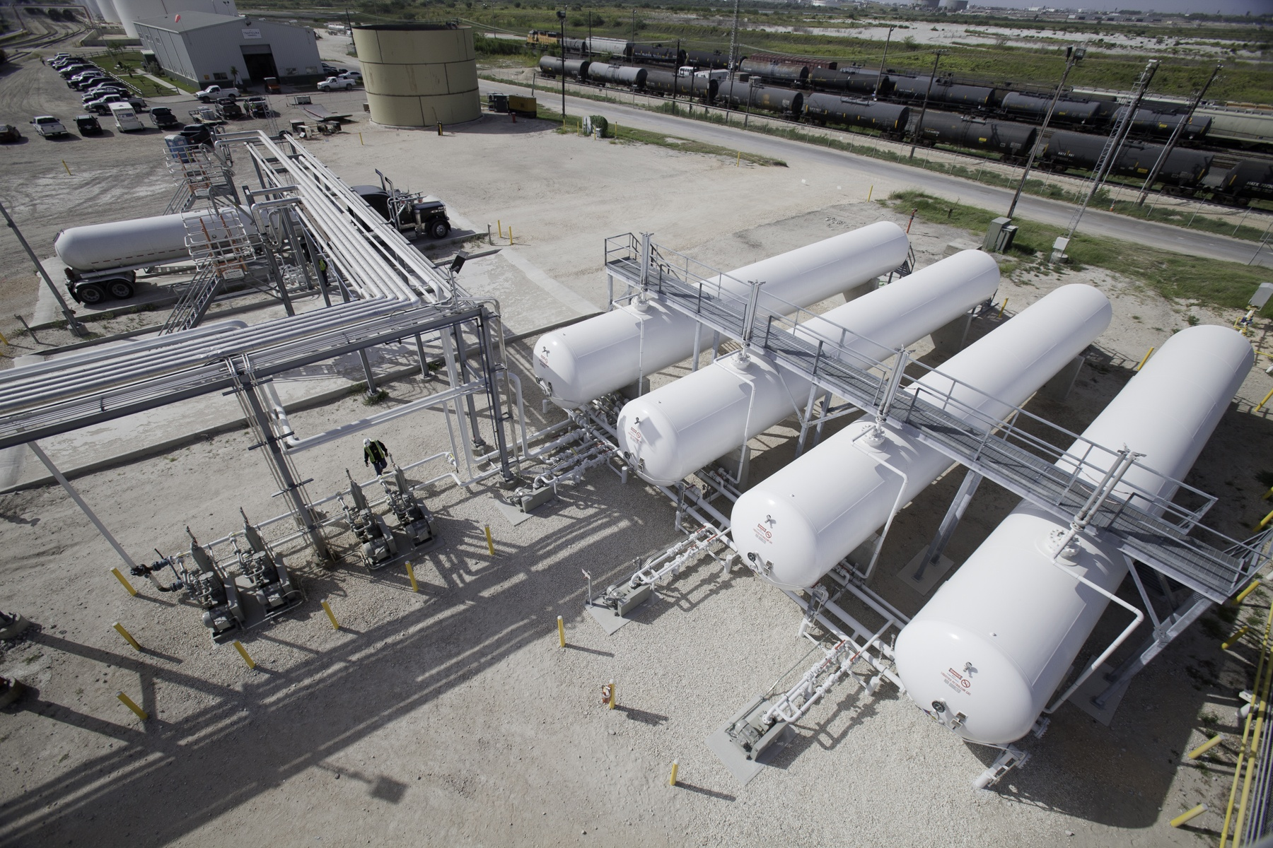 NGL LPG Rail and Truck Terminal