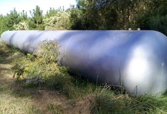 8,200 Used Propane Storage Tank