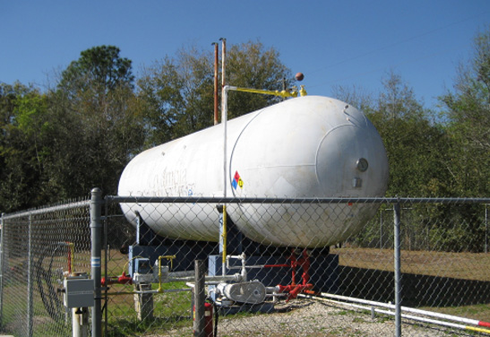 15,000 Used Propane Storage Tank