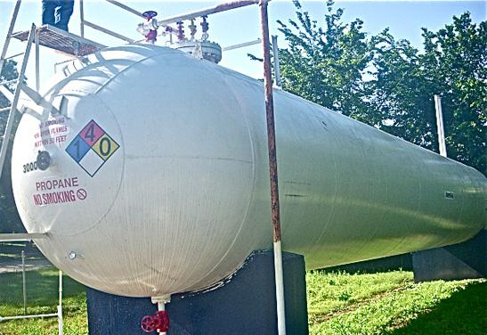 30,000 Gallon Used Propane Tank