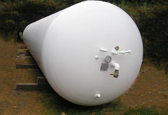 12,000 Gallon Used Propane Tank