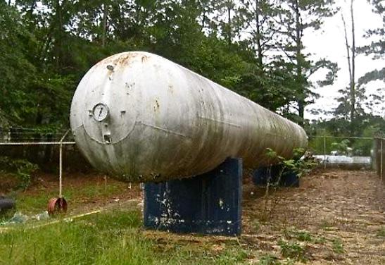 60,000 Gallon LPG NGL Propane Storage Bullet Tanks