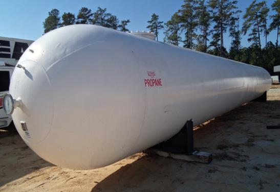 15,000 Gallon ASME Storage Vessel