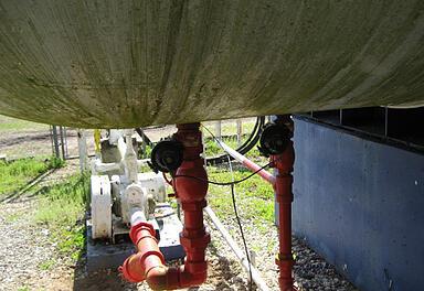 15,000 Used Propane Storage Tank Data