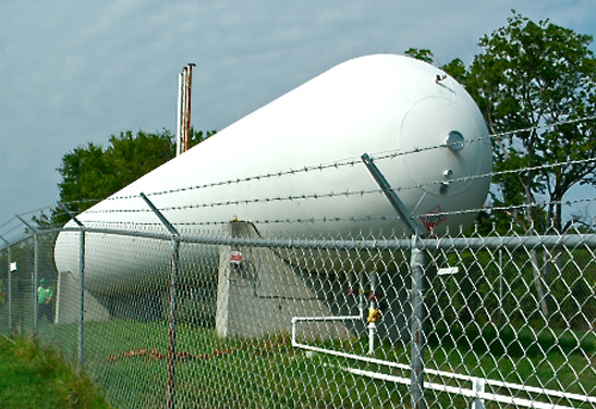 30,000 Gallon NGL Storage Tanks