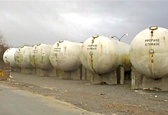 30,000 Gallon Bulk Propane Tank for Sale