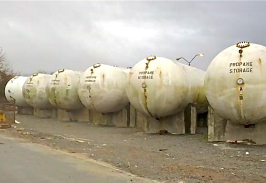 30,000 Gallon Bulk Propane Tank for Sale