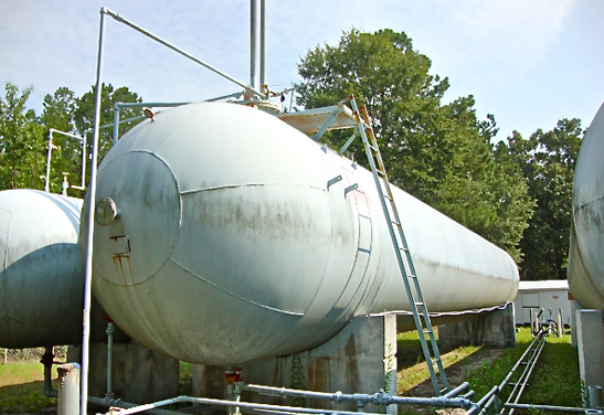 Pressure Vessel for NGL and Propane Storage