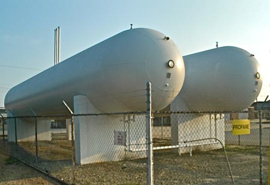 Used 30,000 LPG Storage Bullets