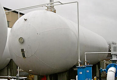 30,000 Gallon Used Propane Tank