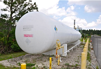 Used 30,000 Gallon Propane Storage Tank Thumb