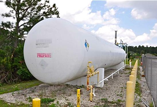 Used 30,000 Gallon Propane Storage Tank