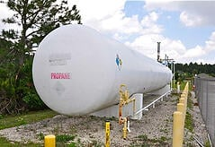 Used 30,000 Gallon Propane Storage Tank