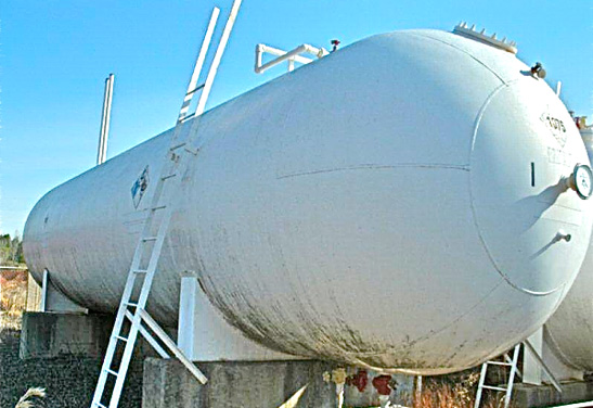 18,000 Gallon Used ASME Vessel