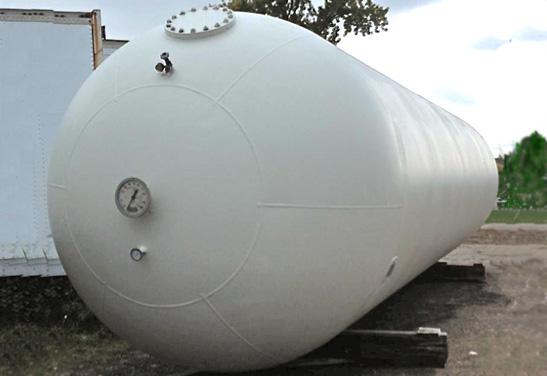 LPG Processing Storage Bullet Tanks