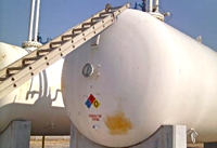 30,000 gallon bullet propane storage tank thumb