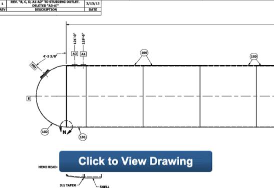 90,000 gallon ngl lpg bullet tank drawing click here