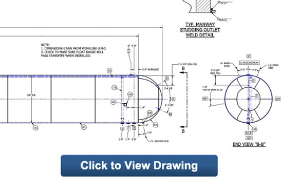 60,000 NGL LPG Propane Storage Tank for Sale drawing button