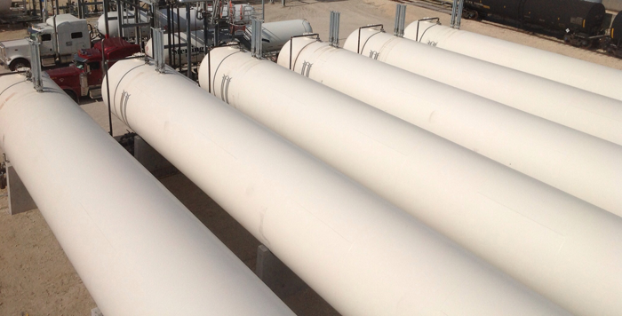 90,000 gallon ngl lpg propane tanks   newly manufactured   for sale