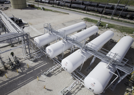 NGL LPG storage terminal for new vs old storage tank comparison considerations