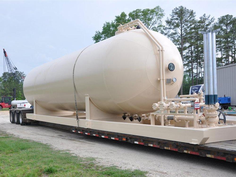 LPG NGL storage tanks -  infrastructure