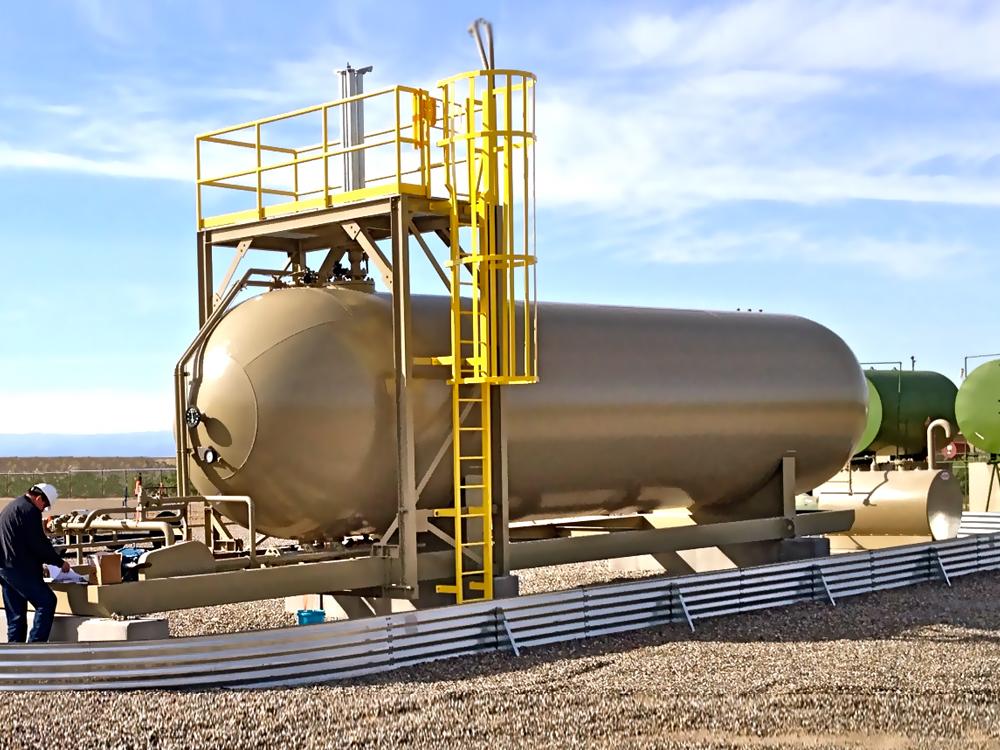 LPG NGL modular portable storage tank