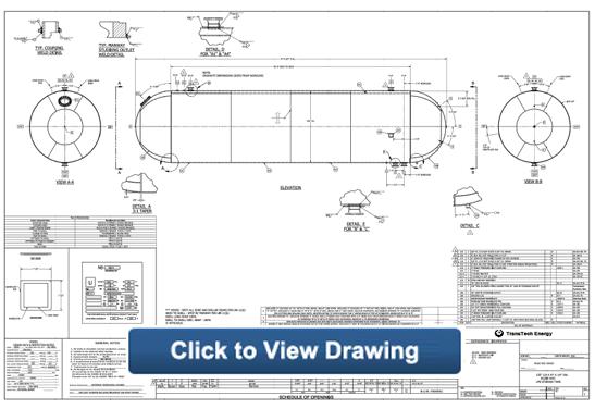 Inlet Surge Tanks Pressurized Processing Vessel