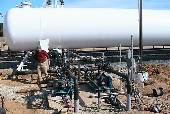 LPG Bulk Plant Refurbishing