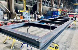 1 Modular Plant Skid Fabrication - AWS Certified Welders