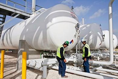 7 - LPG Propane Bulk Storage Engineering Construction