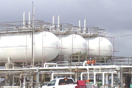 90,000 - 100,000 Gallon Used ASME Storage Tanks for Sale -  for NGL LPG Propane Butane