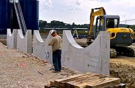 Propane Storage Tank Peirs & Saddles__