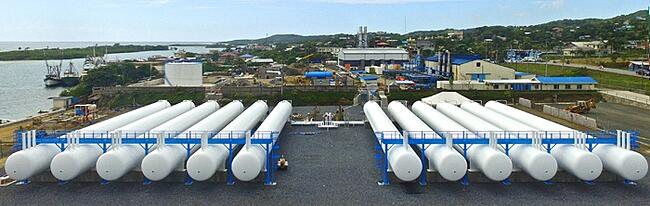 Prefabricated LPG Propane Import Terminal  - Engineering Construction