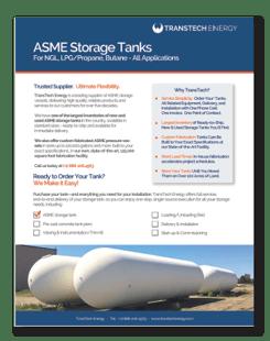 Brochure-ASME Storage Tanks for NGL LPG Propane Butane