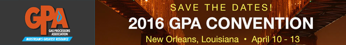 Click to Learn About GPA Convention 2016 - Gas Processors Association