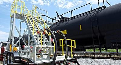 NLG LPG Rail-to-Truck Transloaders